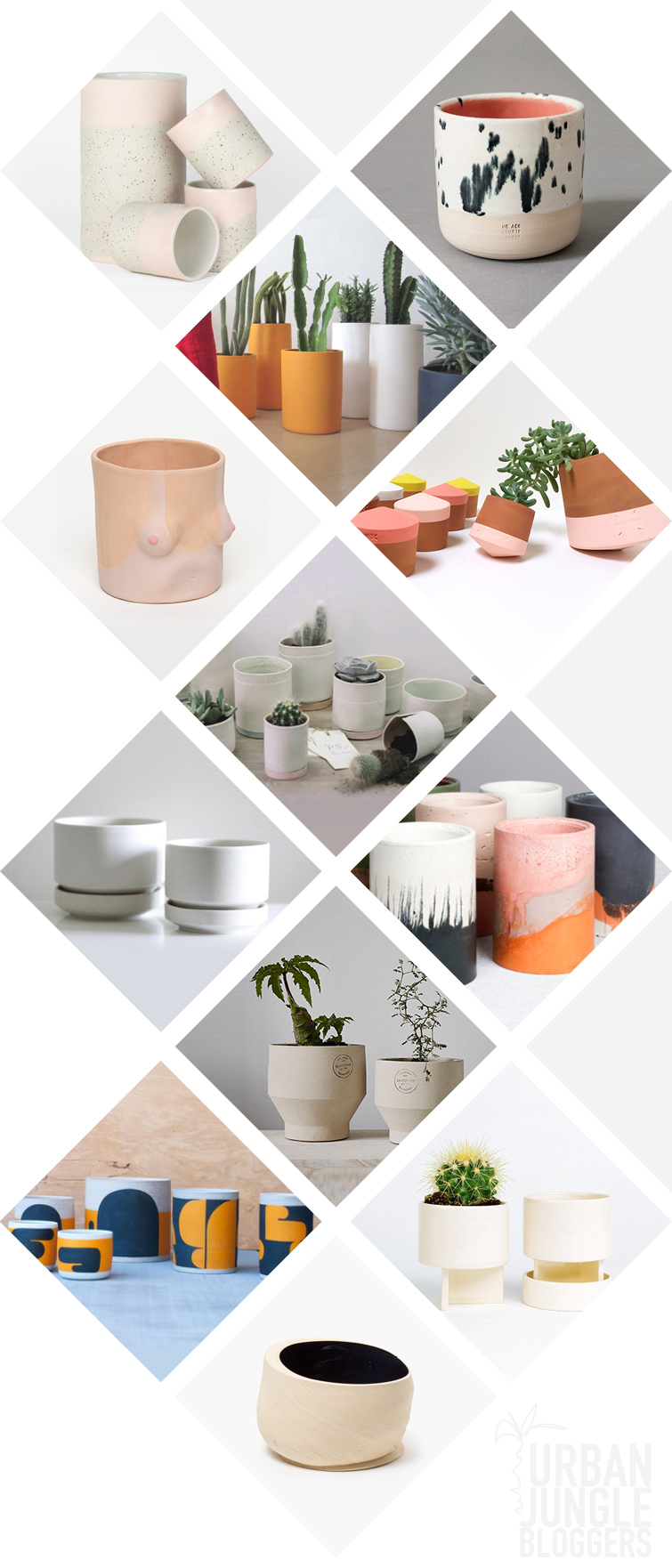 JOELIX.com | Creative plant pots for a contemporary urban jungle