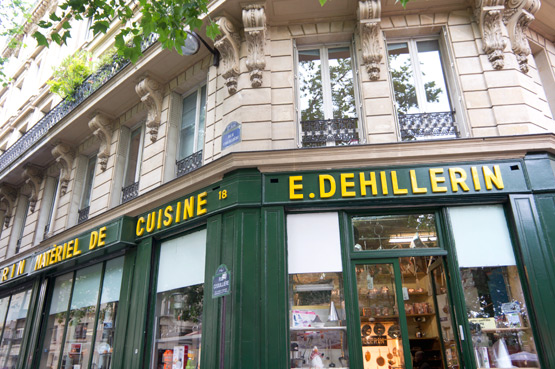 JOELIX.com | E. Dehillerin cookware shop in Paris