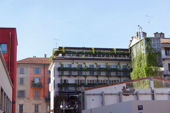 JOELIX.com | Green balconies in Milan