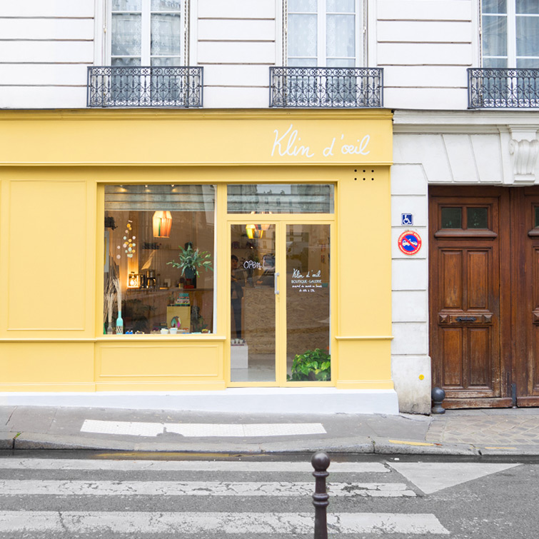 JOELIX.com | Klin d'oeil boutique & galerie in Paris