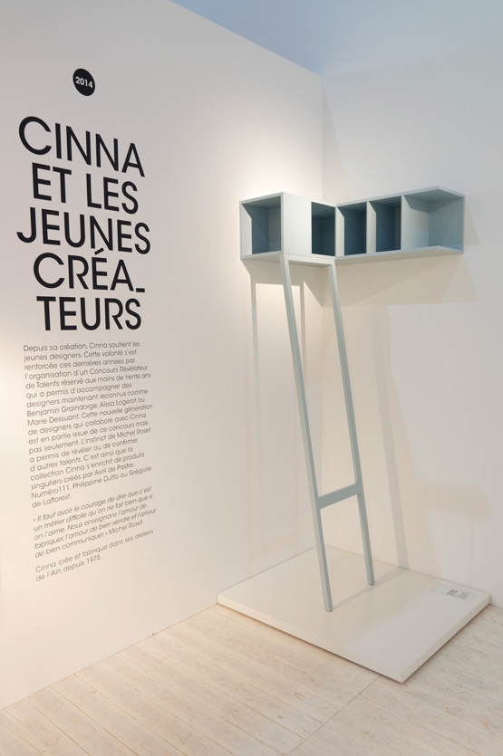 JOELIX.com | Maison et Objet Paris wooden furniture design in wood plywood Cinna