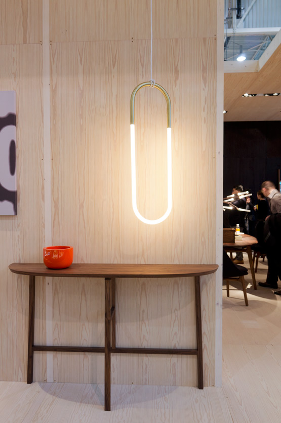 JOELIX.com | Maison et Objet Paris wooden furniture design in wood plywood Neri&Hu