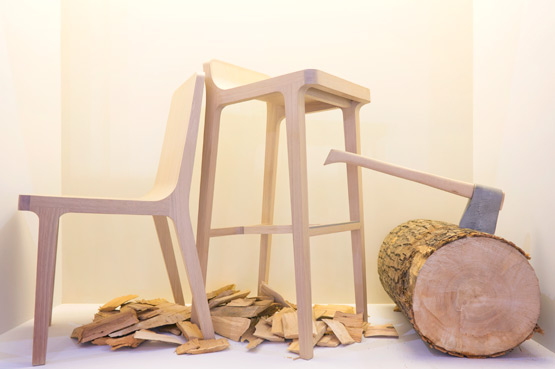 JOELIX.com | Maison et Objet Paris wooden furniture design in wood plywood