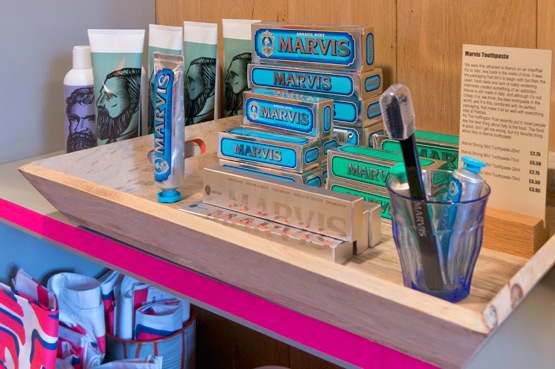 JOELIX.com | Pedlars London shop Marvis toothpaste