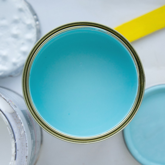 JOELIX.com | Updated Eau de Nil color blue turquoise paint