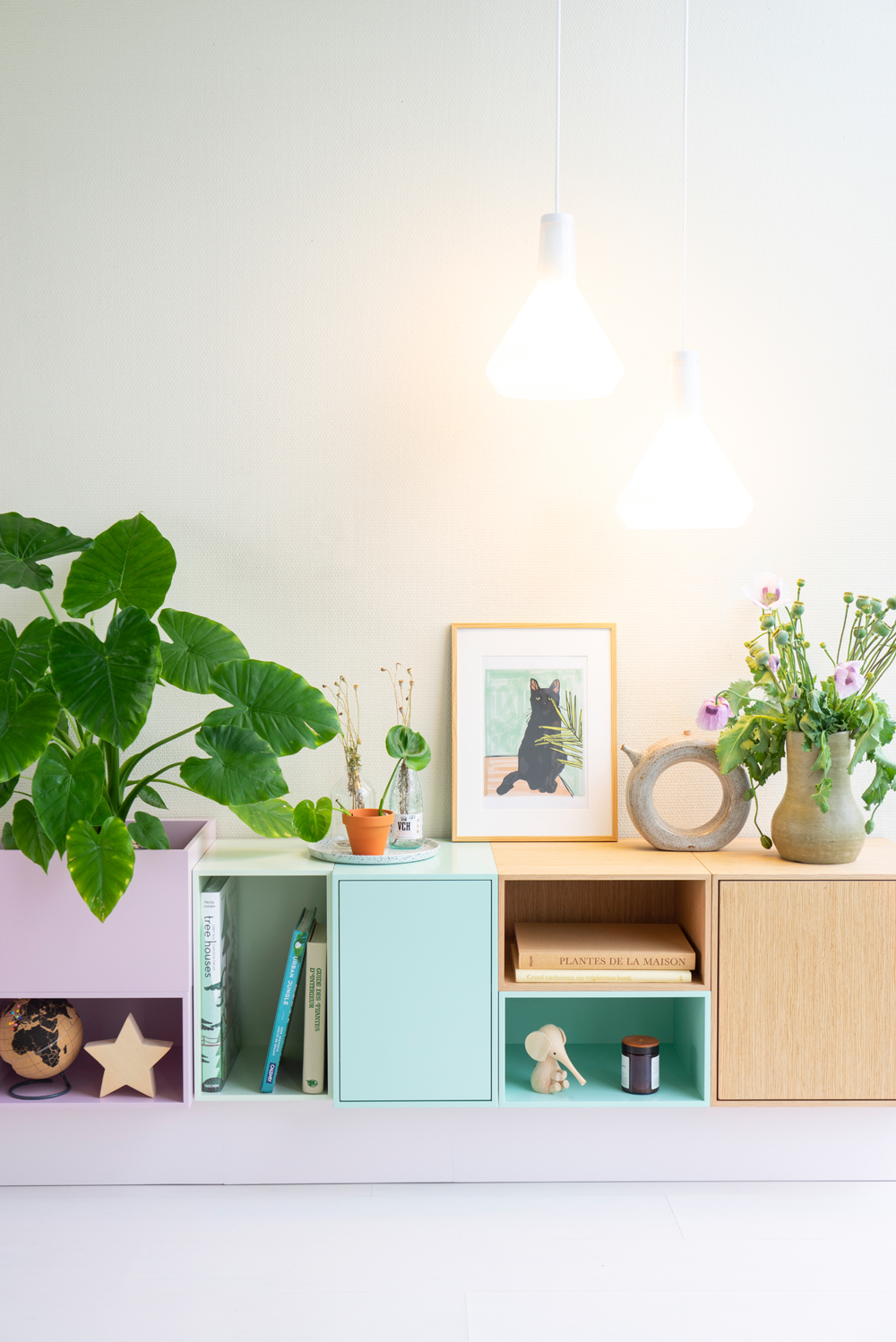 JOELIX.com | Our new rainbow sideboard from Cubit #cubitshop #urbanjunglebloggers