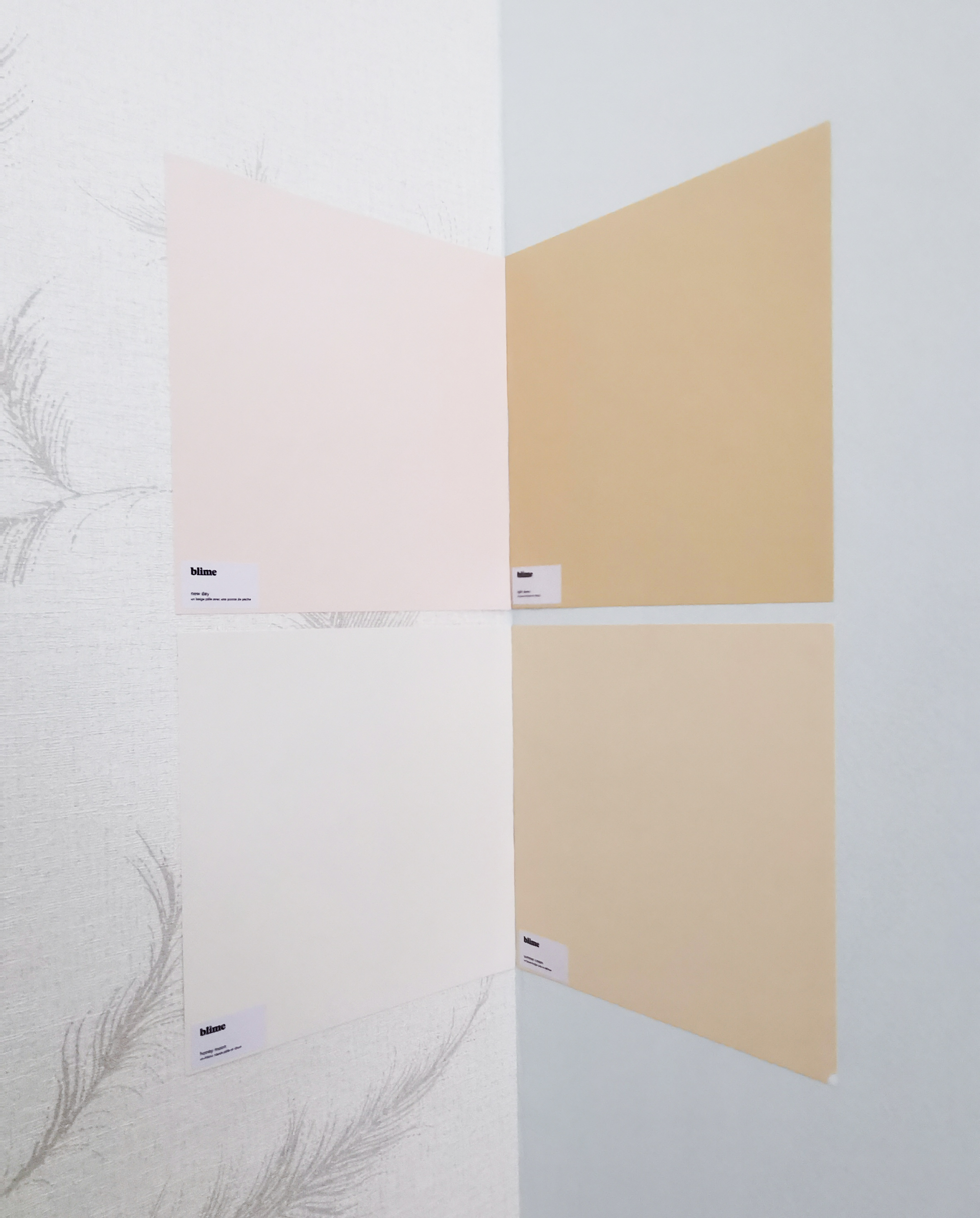 JOELIX.com | Summer Cream in the bedroom paint by Blime